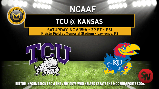 TCU Horned Frogs @ Kansas Jayhawks