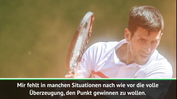 """Monte Carlo: Djokovic raus: """"Überzeugung fehlt"""""""