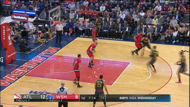 GAME RECAP: Wizards 104, Hawks 100