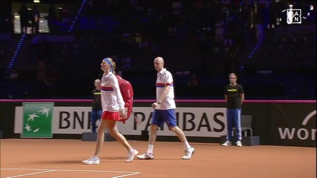 Fed Cup: Kerber - Kvitova