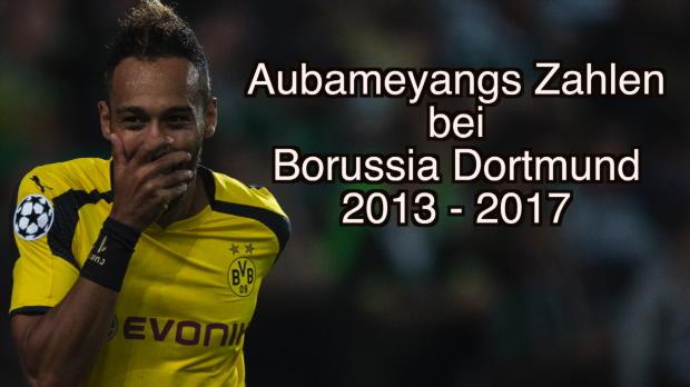 Aubameyang: Treffer ohne Ende für den BVB