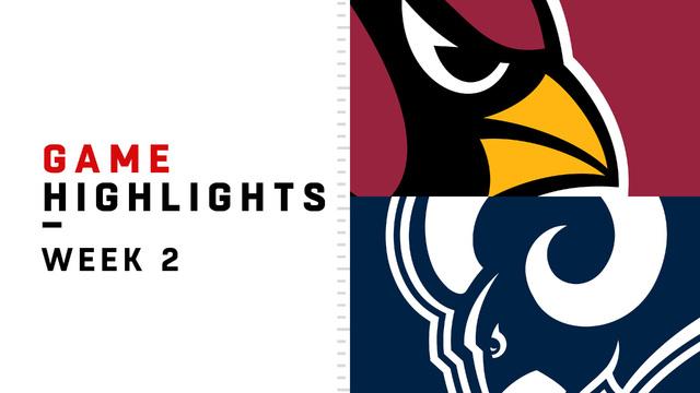 Cardinals vs. Rams highlights | Week 2