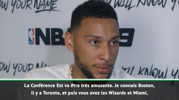 """Basket : 76ers - Simmons - """"La Conférence Est va être compétitive"""""""