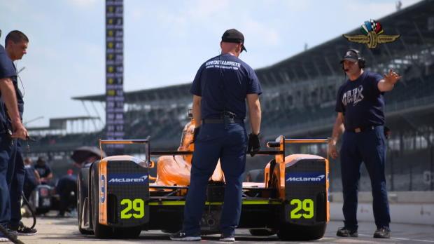 500 millas de Indianápolis - Fernando Alonso suma kilómetros y gana opciones en el Óvalo