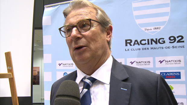 Top 14 - Racing 92 : Lorenzetti : 'La fougue des jeunes'