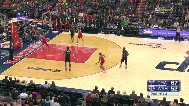 WSC: Bradley Beal (33 points) Highlights vs. Charlotte Hornets