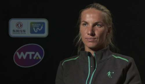 Kuznetsova Interview: WTA Wuhan QF