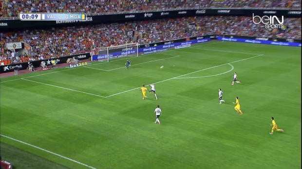 Liga : Valence 3-0 Malaga