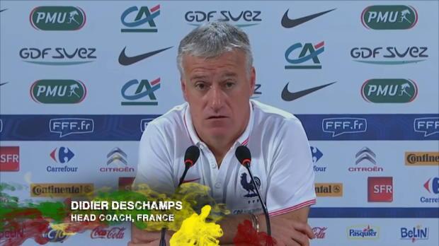 Bleus - Deschamps : 'Matuidi s'est excus� pour son geste'