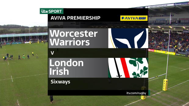 Aviva Premiership - Match highlights,Worcester Warriors v London Irish