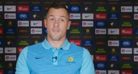 Hear what Danny Vukovic had to say as he arrived in Socceroos camp in Tehran.