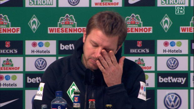 """Kohfeldt nach Remis: """"Es tut richtig weh!"""""""