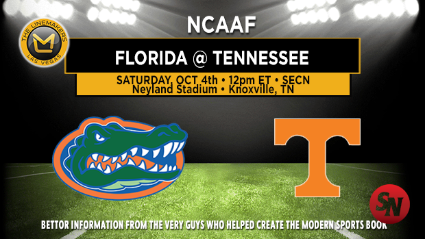 Florida Gators @ Tennessee Volunteers