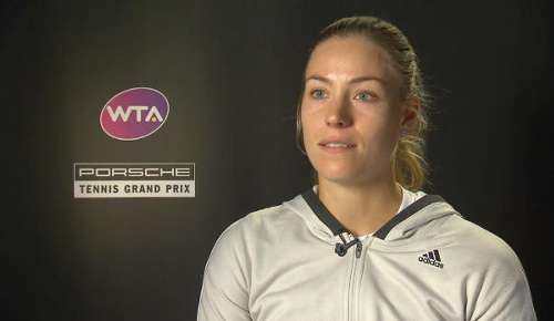 Kerber Interview: WTA Stuttgart SF