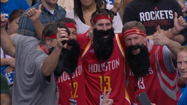 Rockets vs. Mavericks: Game 4