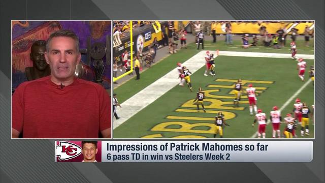 Kurt Warner on Patrick Mahomes: There are little things he does that are rare and unique