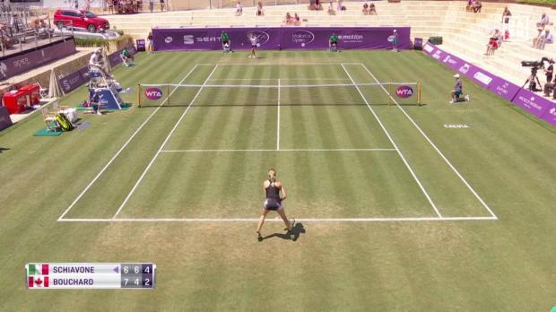 WTA Mallorca: Schiavone siegt sensationell gegen Bouchard