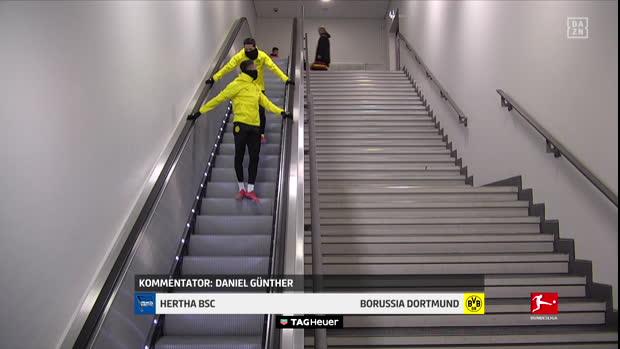 Bundesliga: Hertha BSC - Borussia Dortmund   DAZN Highlights