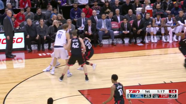 WSC: JJ Barea 18 points vs the Raptors