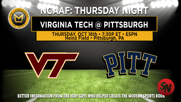 Virginia Tech Hokies @ Pittsburgh Panthers