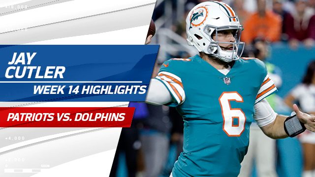 Jay Cutler highlights | Week 14