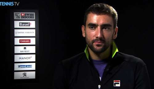 Cilic Interview: ATP Basel 2R