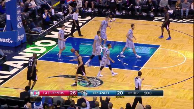 WSC: Highlights: Jamal Crawford (20 points) vs. the Magic, 2/5/2016