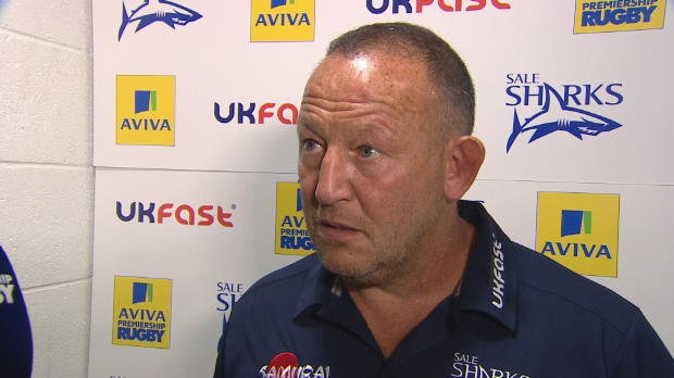 Aviva Premiership - Steve Diamond's Interview After Their Win Against Harlequins