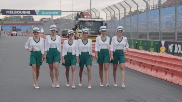 F1: Melbourne rüstet sich für den Rennauftakt
