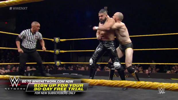 "Oney Lorcan vs. Andrade ""Cien"" Almas: WWE NXT, March 22, 2017"
