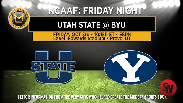 Utah State Aggies @ BYU Cougars