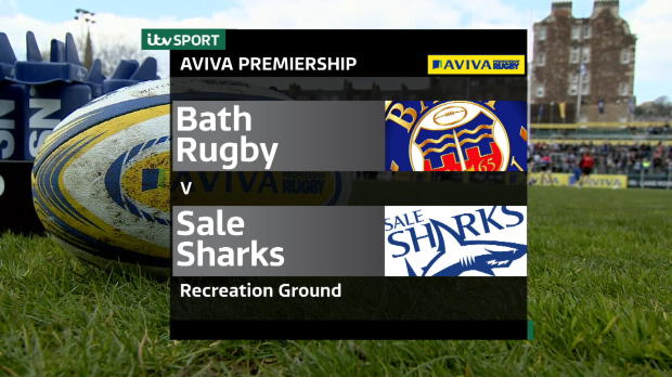 Aviva Premiership - Match Highlights - Bath Rugby v Sale Sharks