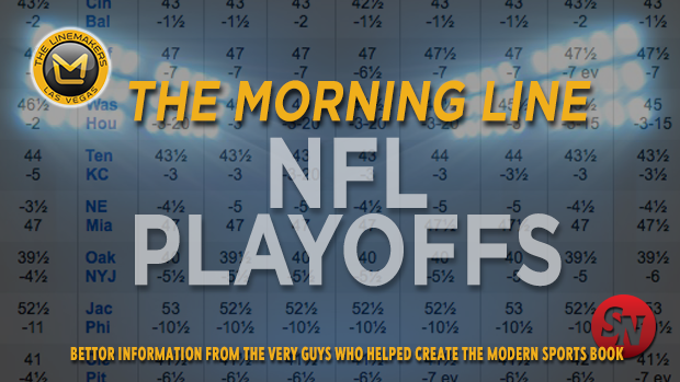 Linemakers Morning Line NFL Playoffs