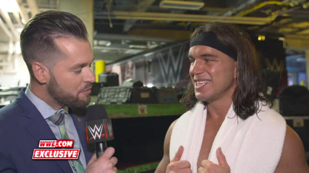 Chad Gable reflects on his upset victory on Raw: WWE.com Exclusive, April 23, 2018