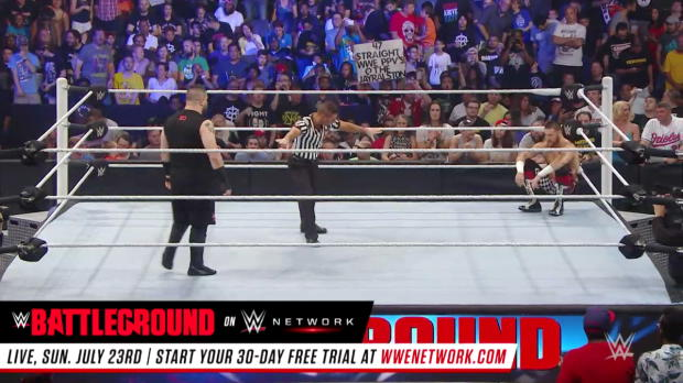 Sami Zayn vs. Kevin Owens: WWE Battleground 2016 (Full Match - WWE Network Exclusive)