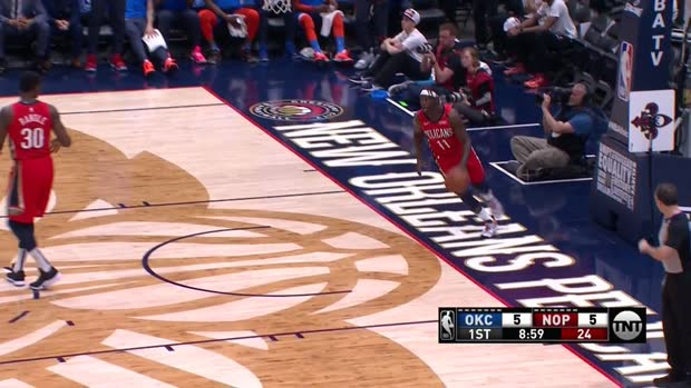WSC: Russell Westbrook with 44-Points-Triple-Double against Pelicans