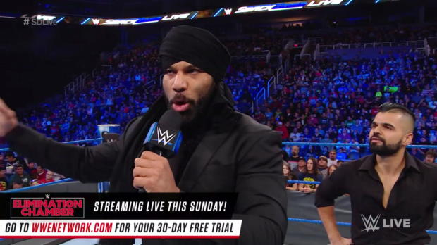 """Jinder Mahal gives a """"Roode Awakening"""" to Bobby Roode: SmackDown LIVE, Feb. 20, 2018"""