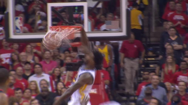 Dunk of the Night: Jordan Bell