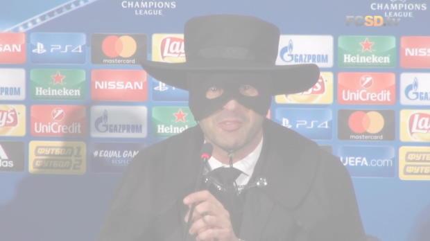 Karneval bei Schachtjor! Fonseca als Zorro
