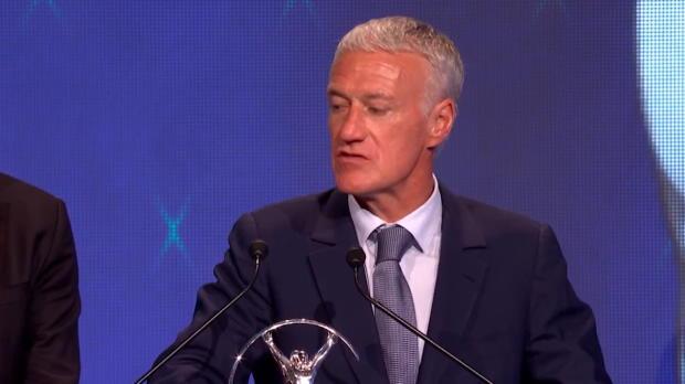 Laureus Awards - Deschamps - 'Tous les Français ont la fierté de se sentir champions du monde'