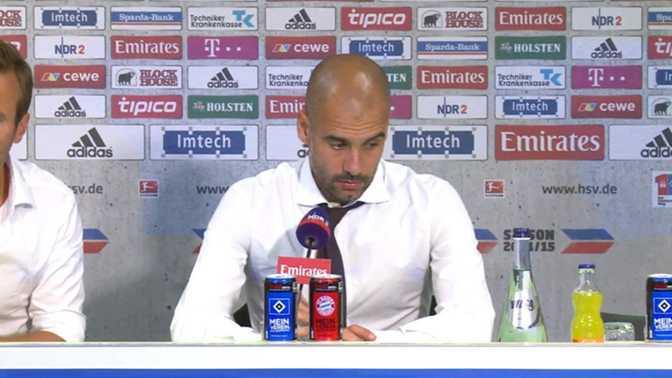 """Guardiola : """"Un match très difficile pour nous"""""""