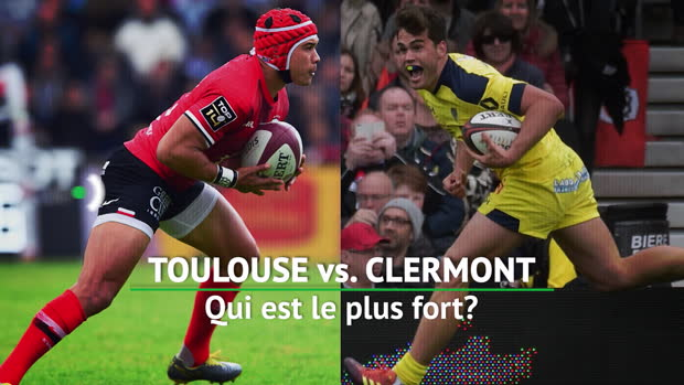 Rugby : Top 14 - Finale : Stade Toulousain vs. Clermont, qui est le plus fort :