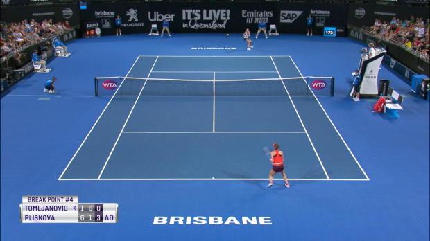 Basket : Brisbane - Pliskova qualifiée en mode yo-yo