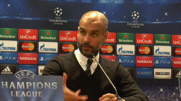 Groupe E - Guardiola - 'Un simple accident pour la Roma'