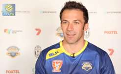 Foxtel A-League All Stars captain Alessandro Del Piero says it will be strange but exciting to play against his former team Juventus.