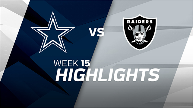 Cowboys vs. Raiders highlights | Week 15