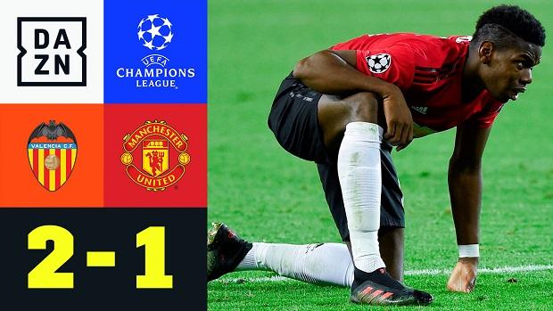 UEFA Champions League: Valencia - Man United | DAZN Highlights