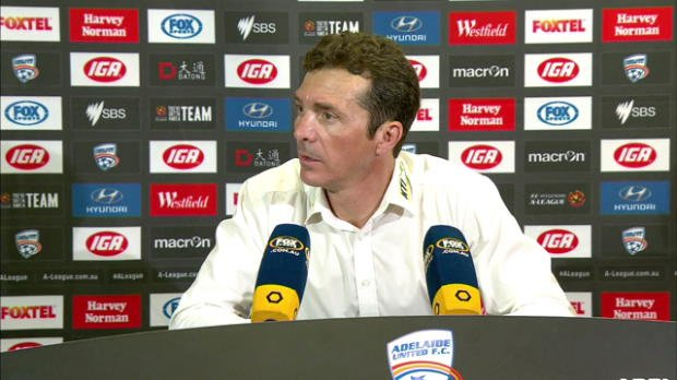 Adelaide United Rd15 press conference