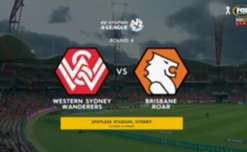 Western Sydney and Brisbane shared the points following a 1-1 draw at Spotless Stadium on Friday night.