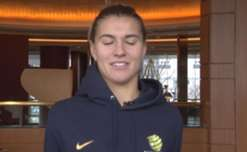 Steph Catley says the Westfield Matildas are determined to make it five from five in their final match against China.